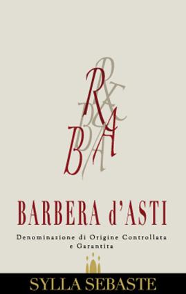 Barbera d'Asti DOCG - Sylla Sebaste (label)