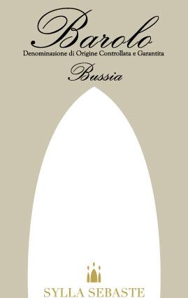 Barolo Bussia DOCG - etichetta - Sylla Sebaste