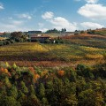Panorama from the road - Cascina Gramolere