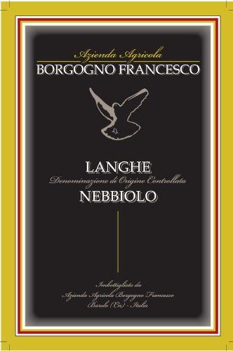 Langhe Nebbiolo DOC - F. Borgogno (etichetta)