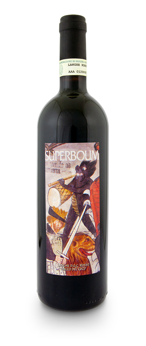 Langhe DOC Rosso Superboum - Bricco Cucù - Bottiglia