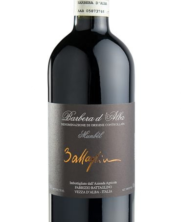 Barbera d'Alba DOC Munbèl – Battaglino (bottle)