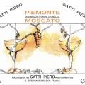 Piemonte Moscato DOC - Gatti Piero ( label)