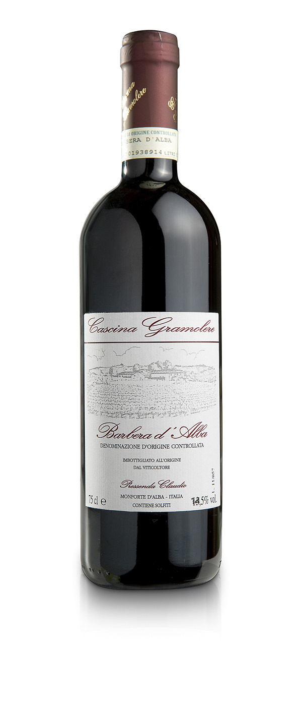 Barbera d'Alba DOC - Gramolere - Bottle