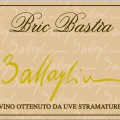 Bric Bastìa 2009 - Vino bianco passito - Battaglino (etichetta)