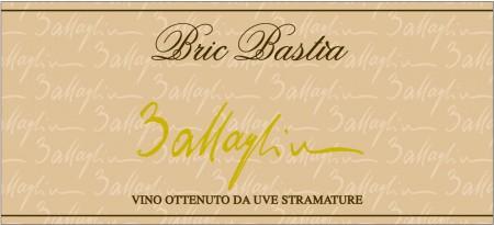 Bric Bastià - Passito - Battaglino (label)