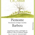 Piemonte Barbera DOC - Cà Neuva