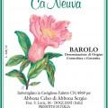 Barolo DOCG - Cà Neuva (etichetta)