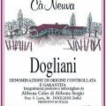Dogliani DOCG - Cà Neuva (etichetta)
