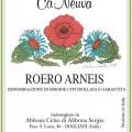 Roero Arneis DOCG - Cà Neuva (etichetta)