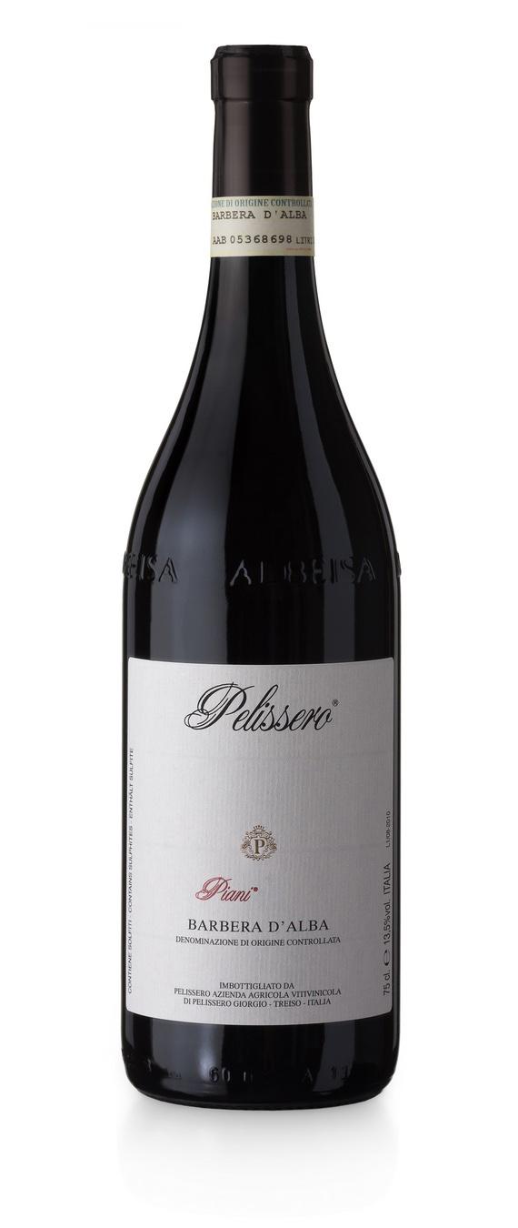 Barbera d'Alba DOC Piani - Pelissero (bottiglia)