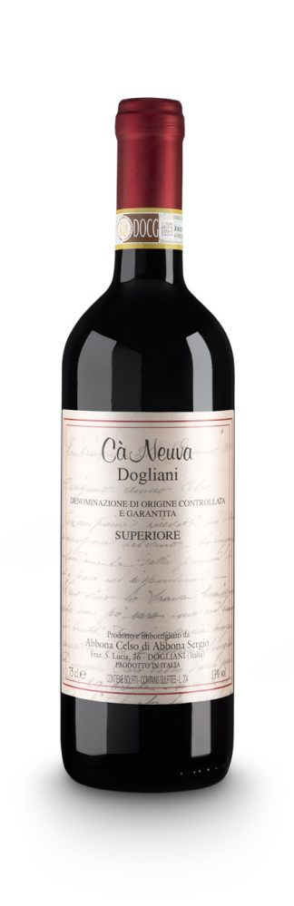 Dogliani Superiore DOCG - Cà Neuva (bottle)
