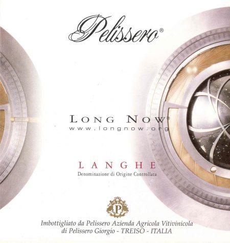 Langhe DOC Rosso Long Now - Pelissero (etichetta)