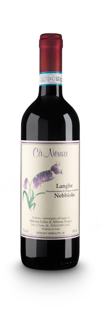 Langhe Nebbiolo DOC - Cà Neuva (bottiglia)