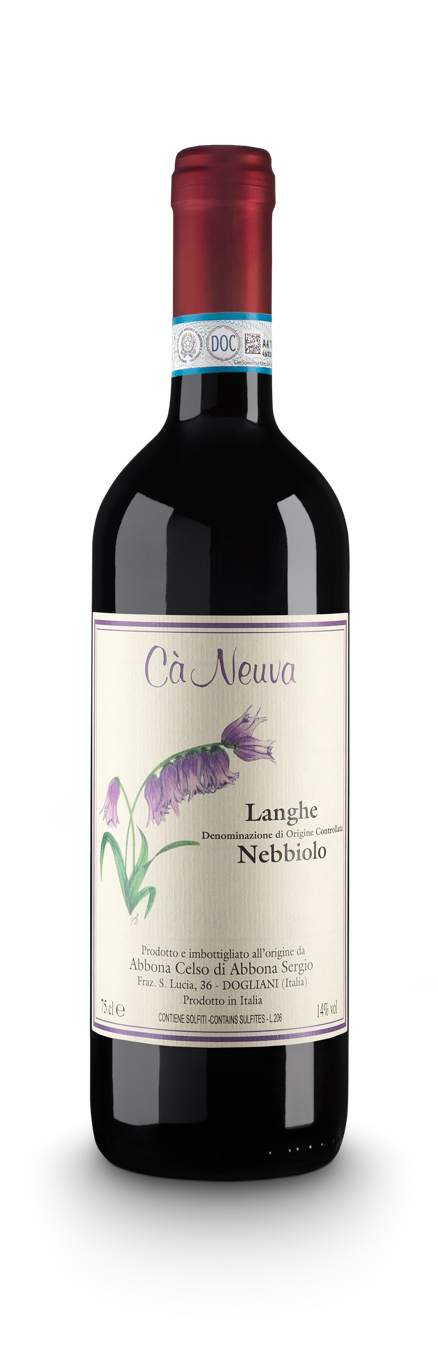 Langhe Nebbiolo DOC - Cà Neuva (bottle)