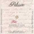 Barbera d'Alba DOC Tulin - Pelissero (etichetta)