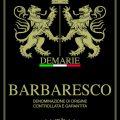 Barbaresco DOCG - Demarie (label)