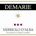 Nebbiolo d'Alba DOC - Demarie (etichetta)