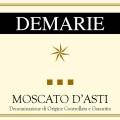 Moscato d'Asti DOCG - Demarie (etichetta)