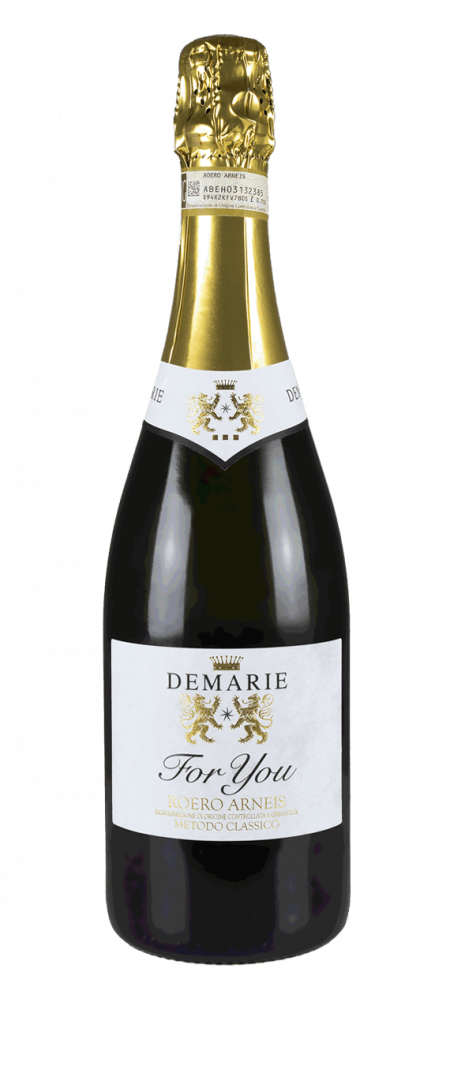 Roero Arneis DOCG Spumante Extra Brut For You - Demarie (bottiglia)