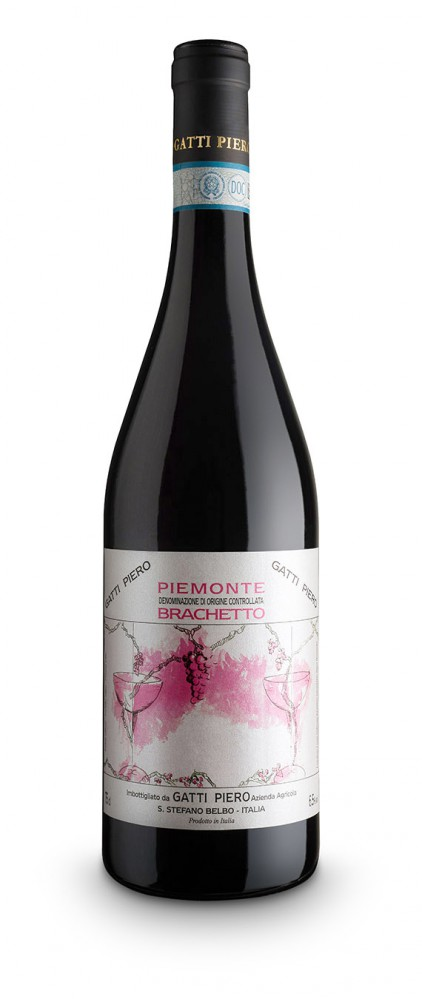 Piemonte Brachetto DOC - Gatti Piero (bottle)
