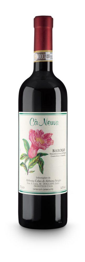 Barolo DOCG - Cà Neuva (bottle)