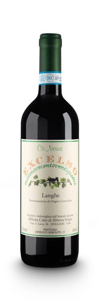 Langhe Rosso DOC Excelso - Cà Neuva (bottiglia)