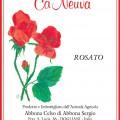 Rosato - Cà Neuva (etichetta)