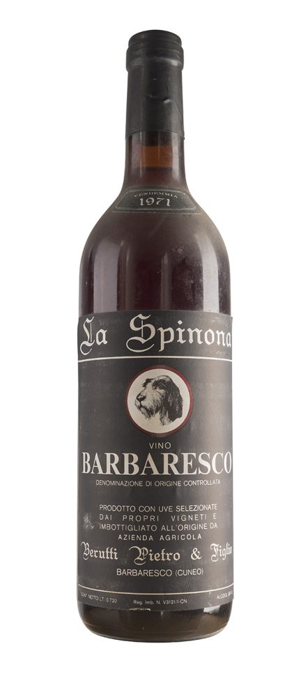 Barbaresco 1971 - La Spinona