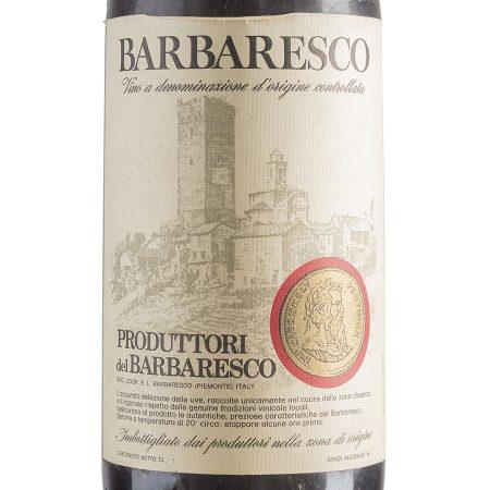 Barbaresco 1971 - Produttori del Barbaresco etichetta