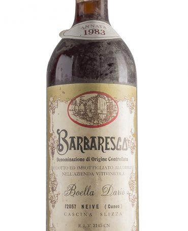 Barbaresco 1983 - Boella Dario