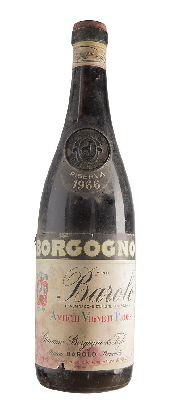 Barolo 1966 - Borgogno