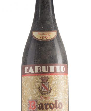 Barolo 1967 - G. Cabutto