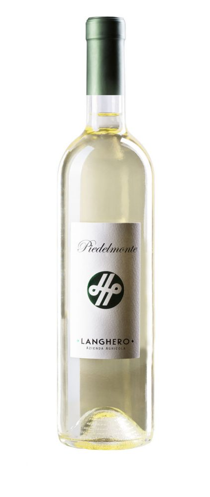 Vino bianco Piedelmonte - Langhero (bottle)