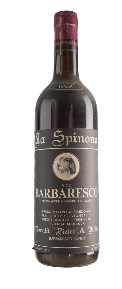 Barbaresco 1968 - La Spinona