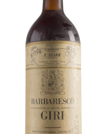Barbaresco 1979 - Giri