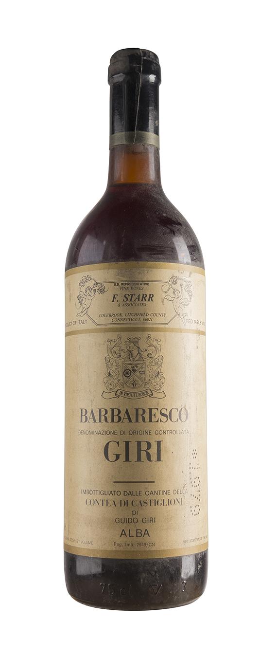 Barbaresco 1979 - Giri