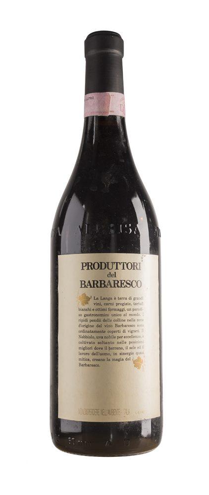 Barbaresco 1992 - Produttori del Barbaresco (retro)