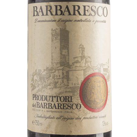Barbaresco 1992 - Produttori del Barbaresco (etichetta)
