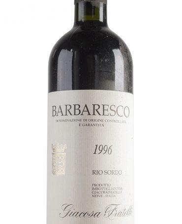 Barbaresco 1996 - Giacosa Fratelli
