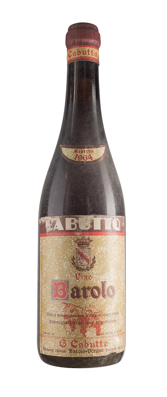 Barolo 1964 - Cabutto