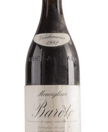 Barolo 1982 - F.lli Alessandria capsula