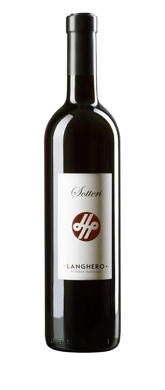Vino rosso Sotteri - Langhero (bottle)