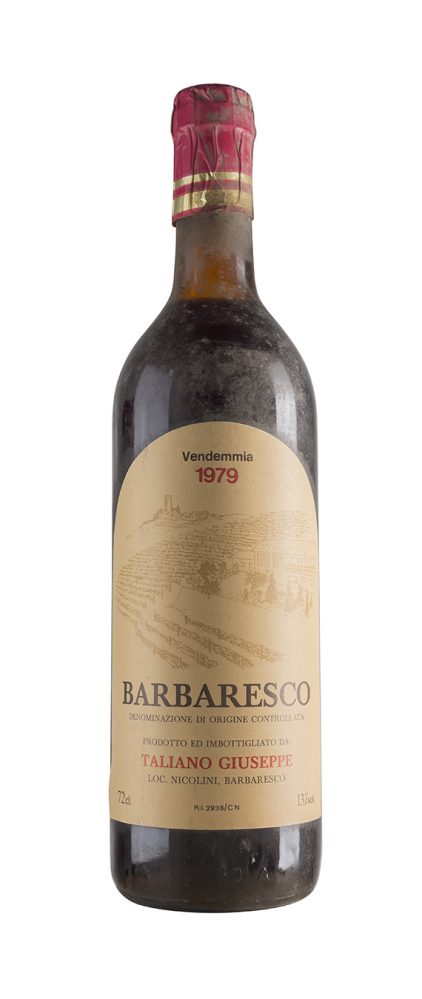 Barbaresco 1979 - Talliano Giuseppe