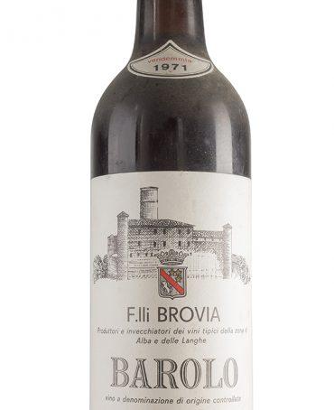 Barolo 1971 - Fratelli Brovia