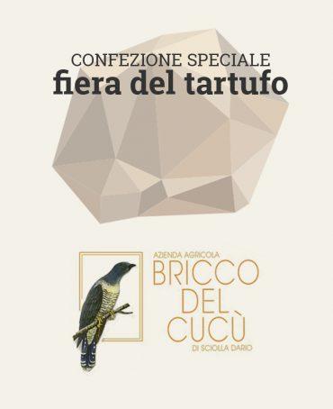 Bricco del Cucù - confezione Fiera Tartufo