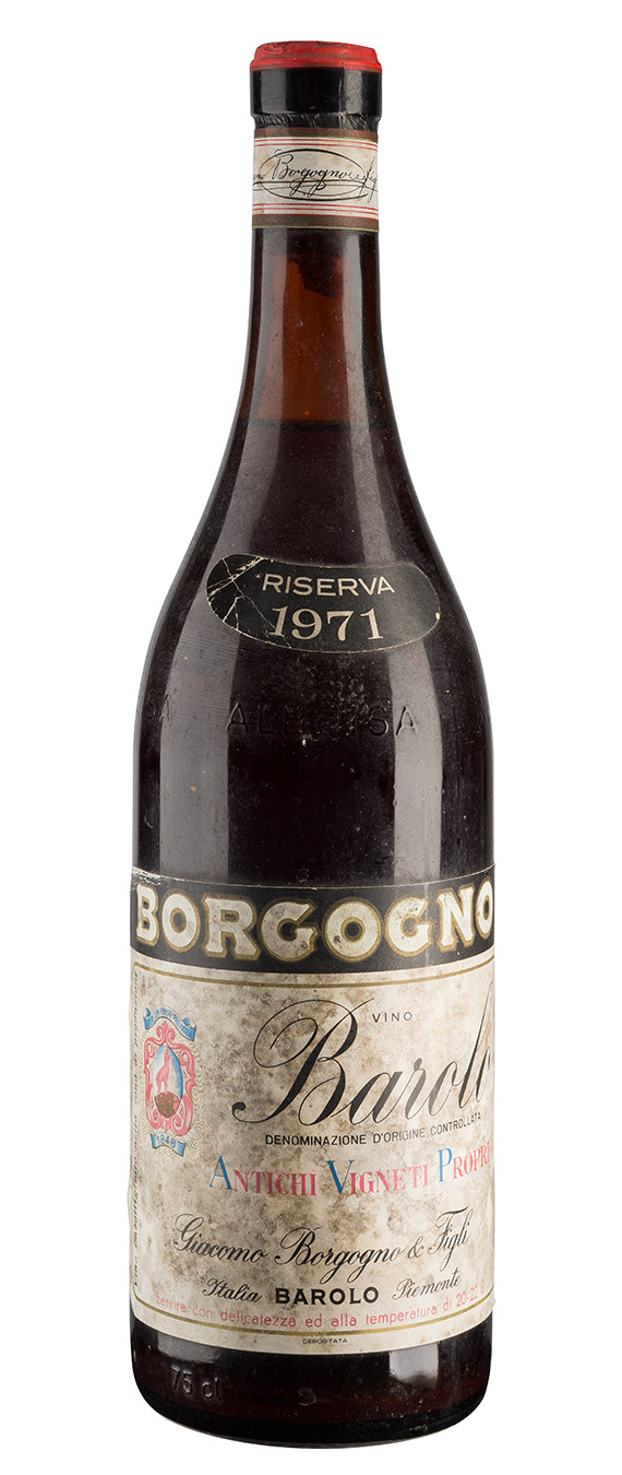 Barolo 1971 - Giacomo Borgogno