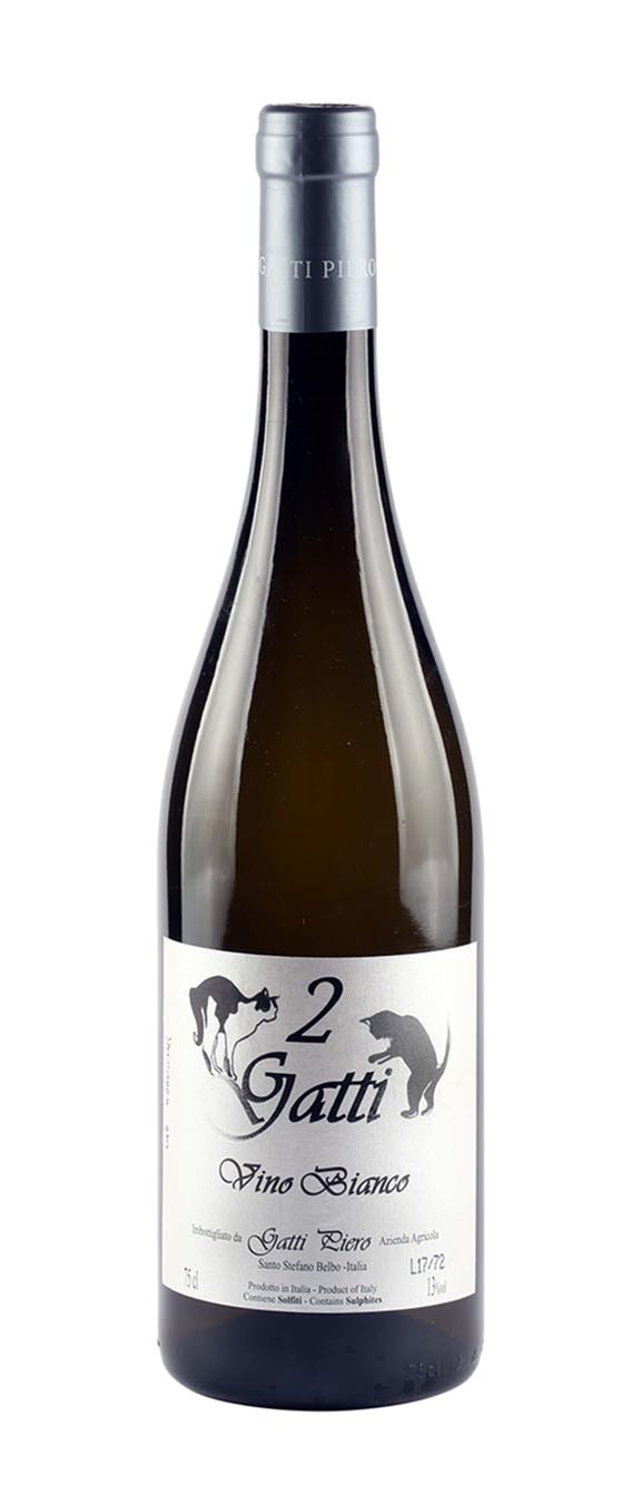 2 Gatti Vino Bianco - Gatti Piero (bottle)