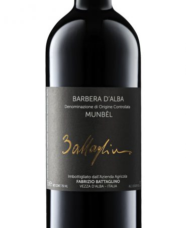 Barbera d'Alba DOC Munbèl - Battaglino (bottle)