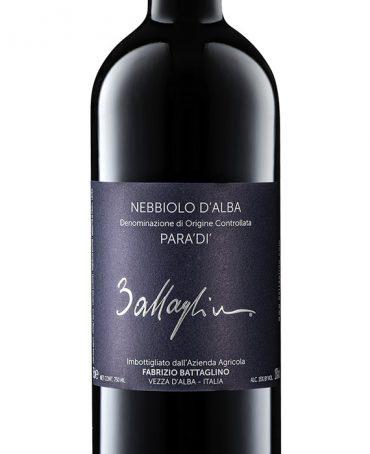 Nebbiolo d'Alba Para'Di' DOC - Battaglino (bottle)